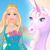 Barbie and Unicorn