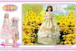 Barbie Doll With Sunflowers Puzzle