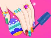 Barbie Easter Nails Designer