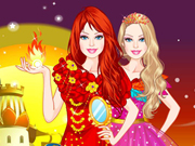 Barbie Fire Princess