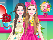 Barbie Flower Girl