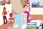 Barbie Living Room Decorate