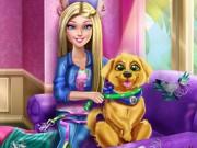 Barbie Puppy Potty Training