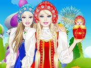 Barbie Russian Doll