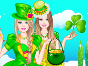 Barbie St Patricks Day