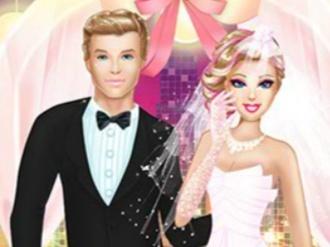 Barbie Superhero Wedding Party