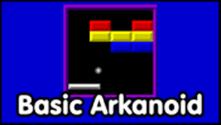Basic Arkanoid