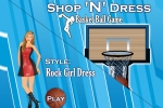 Basket Ball Game Style Rock Girl Dress
