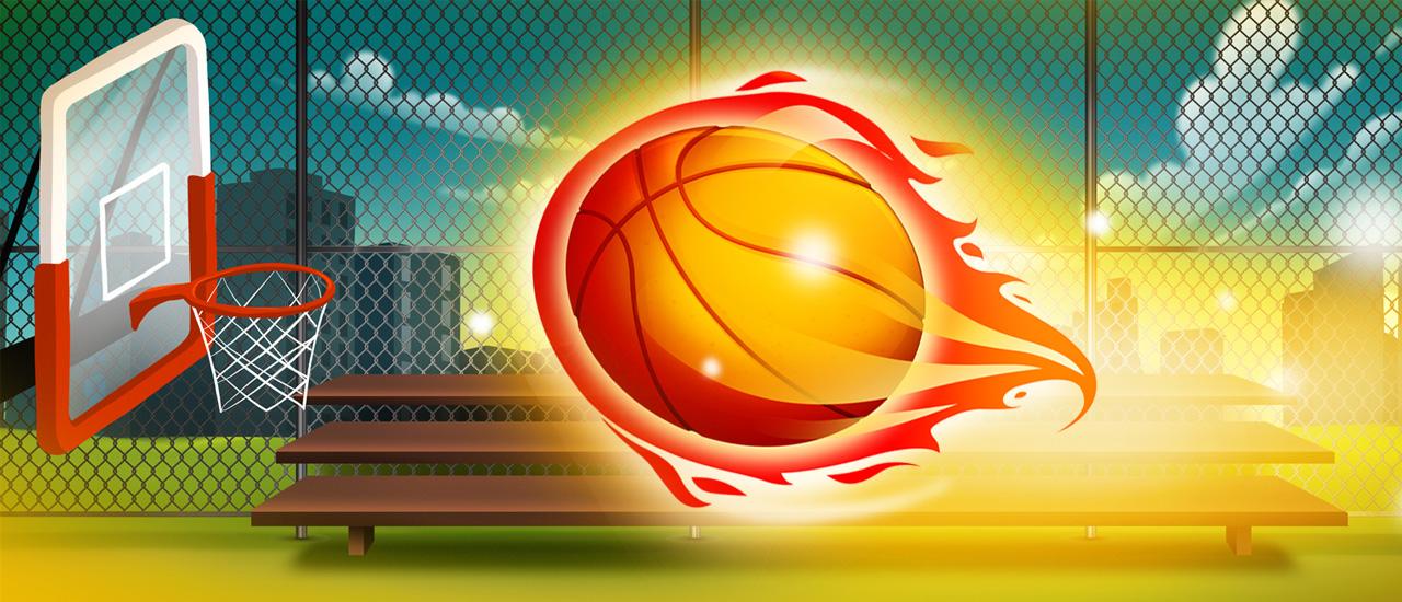 Basketball Machine Gun