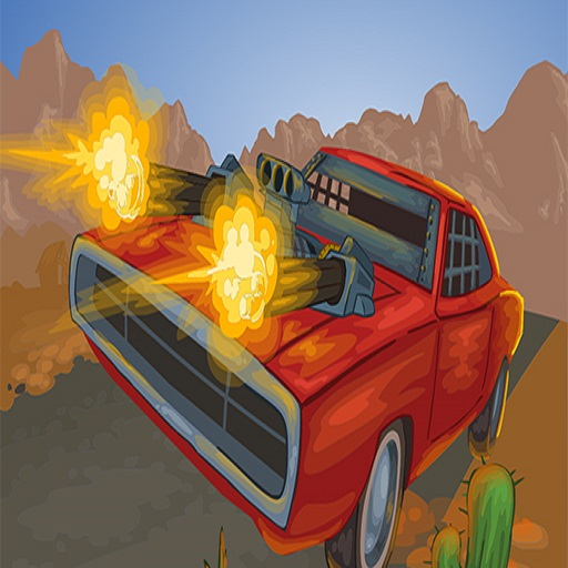 Battle On Road Car Game 2D