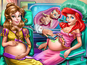 Beauties Bffs Pregnant Check Up