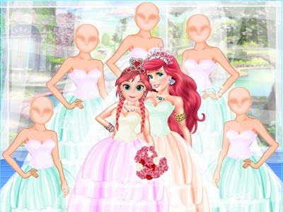 Beautiful Wedding Princess Dress