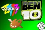 Ben 10 Alien Coloring
