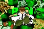 Ben 10 Green Jigsaw Puzzle