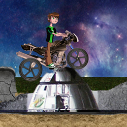 Ben10 Moon Biker