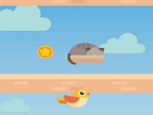 Bird Platform Jumping