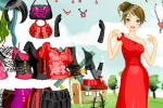 Black and Red Dressup
