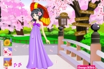 Blooming Flowers Girl Dressup