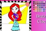 Bratz Cloe Online Coloring