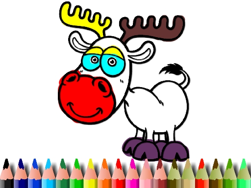BTS Deer Coloring Book