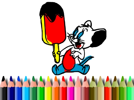 BTS Mouse Coloring