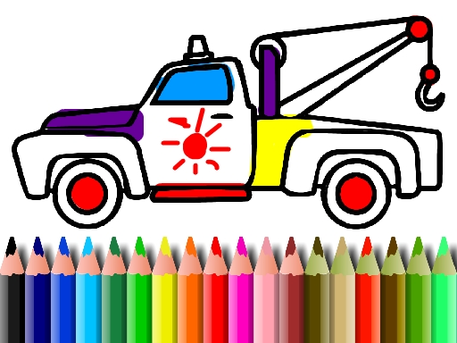 BTS Trucks Coloring