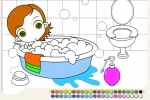 Bubble Bath Coloring
