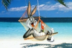 Bugs Bunny Vacation Jigsaw Puzzle