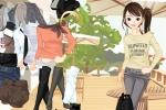 Cafe Girl Dressup