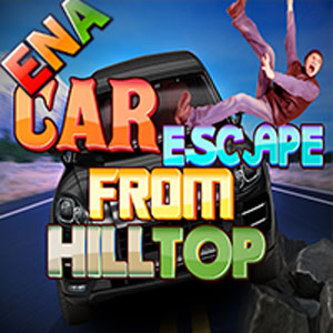 Car Escape From Hilltop