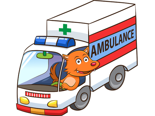 Cartoon Ambulance Puzzle