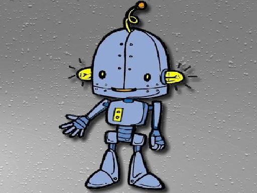 Cartoon Robot Jigsaw