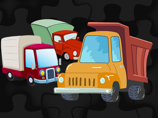 Cartoon Truck Jigsaw