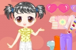 Casual Looking Doll Dress-up