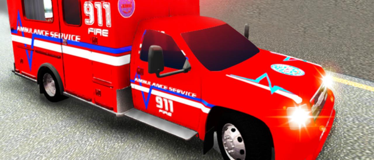 City Ambulance Driving