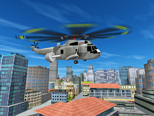 City Helicopter Flight