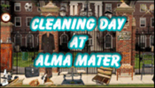Cleaning Day at Alma Mater