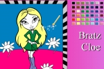 Cloe From Bratz Online Coloring