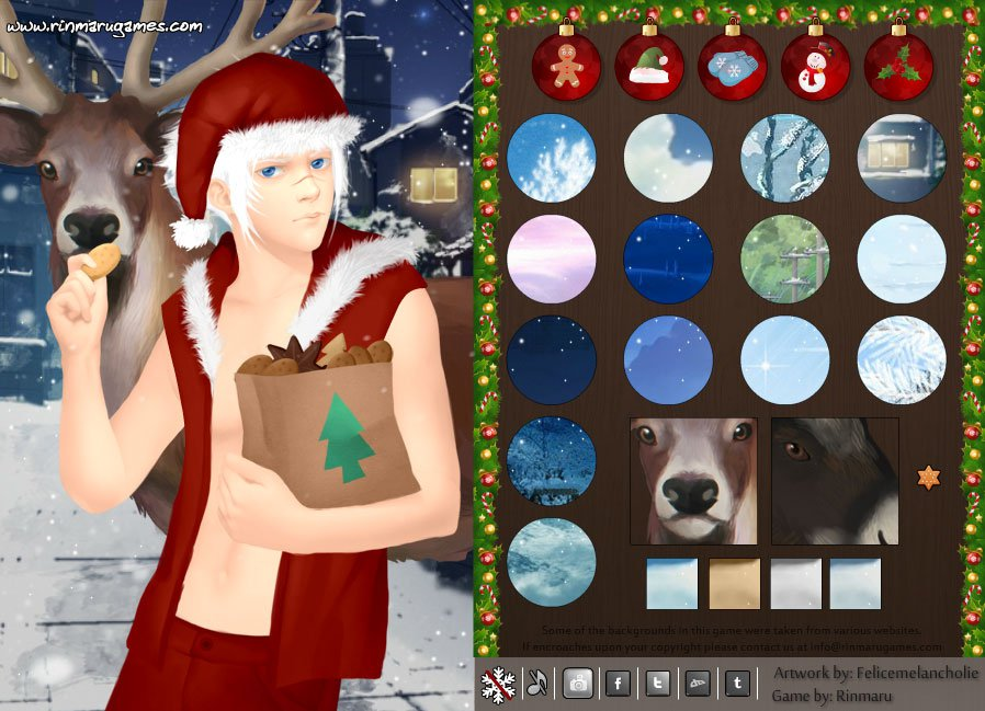 Cool santa dress up game