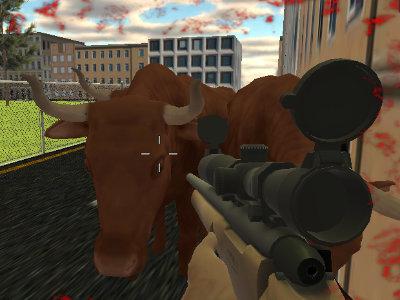 Crazy Bull Attack