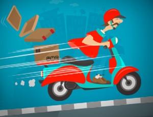 Crazy Courier Ride