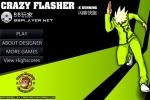 Crazy Flasher X Running