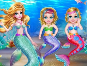 Crazy Mommy Mermaid Story
