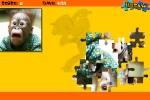 Crazy Monkey Jigsaw Puzzle