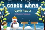 Crossword Game Play 2 Stone Puzzle