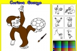 Curious George Coloring