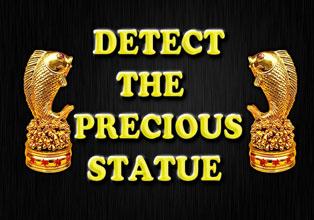 Detect The Precious Statue