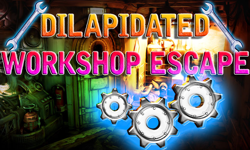 Dilapidated Workshop Escape