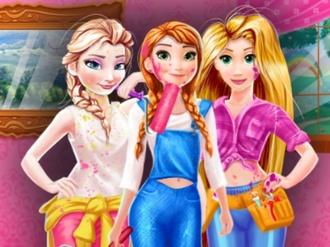 Disney Princesses Room Painting