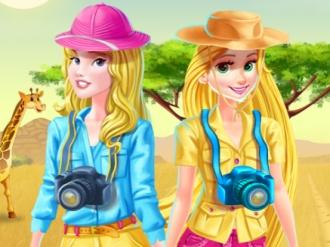 Disney Princesses Safari Trip